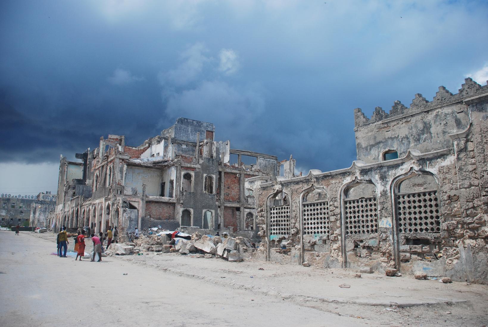 Zentrum von Mogadischu |  Bild (Ausschnitt): © Sadikgulec - Dreamstime.com