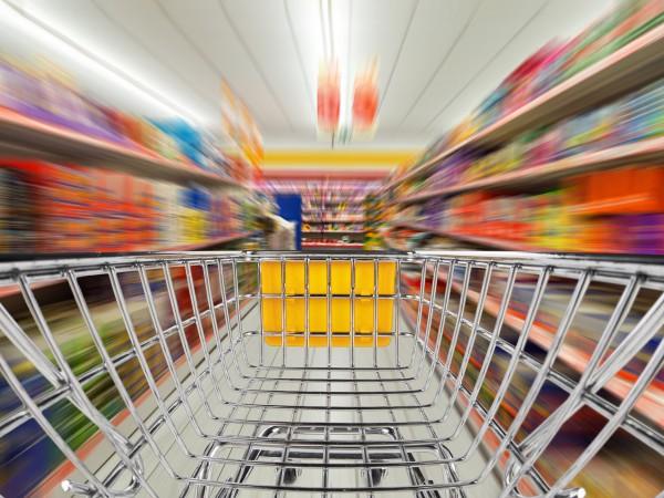 Konsum im Supermarkt