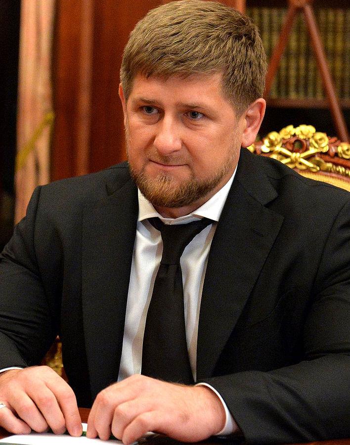Ramsan Kadyrow, Oberhaupt der Teilrepublik Tschetschenien