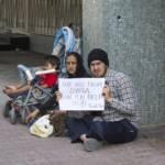 Syrische Flüchtlinge in der Türkei bitten um Hilfe. Syrische Flüchtlinge bitten um Hilfe. | Bild (Ausschnitt): © Olegd - Dreamstime.com