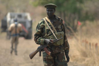 Soldat Sudan