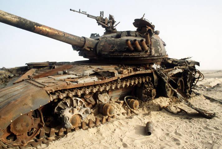 Panzer im Irak Panzer im Irak    Bild: © JO1 LEE BOSCO [Gemeinfrei]  - commons.wikimedia.org
