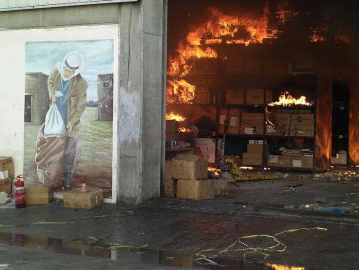 Israelischer Anschlag auf Schule in Flüchtlingscamp Israelischer Anschlag auf Schule in Flüchtlingscamp | Bild: © ISM photographer in Palestine - wikimedia commons