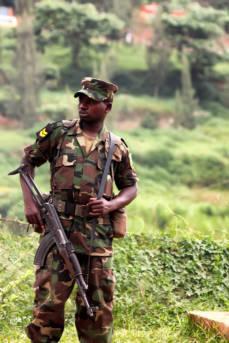 Soldat Kongo