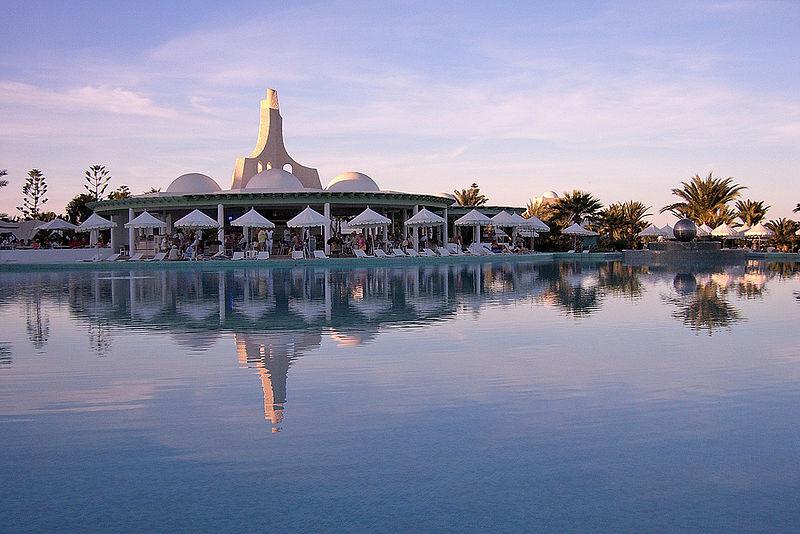 Luxushotel, Tunesien