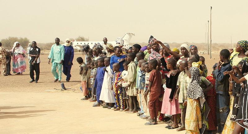 Flüchtlinge Mali
