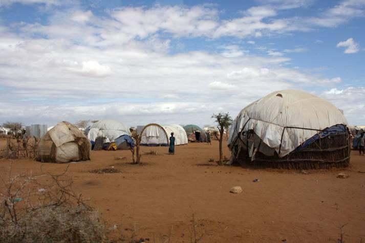 Flüchtlinge Kenia Dadaab Zelte Zelte im Flüchtlingscamp Dadaab. |  Bild: © DFID - UK Department for International Development - Wikimedia Commons