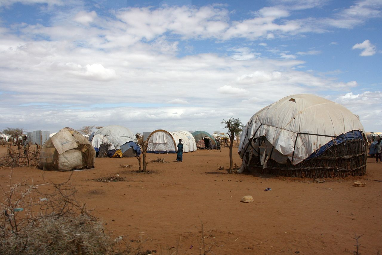Flüchtlinge Kenia Dadaab Zelte