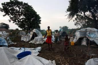Ein Flüchtlingslager in der Republik: Die Zustände sind miserabel |  Bild: © European Commission DG ECHO  [CC BY-ND 2.0]  - Flickr
