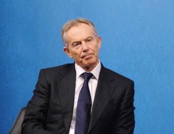 Ehemaliger Premierminister Tony Blair - scheinbar blind folgte er dem damaligen Präsidenten George W. Bush in den Irakkrieg. Der Chilcot Report bescheinigt dies.
