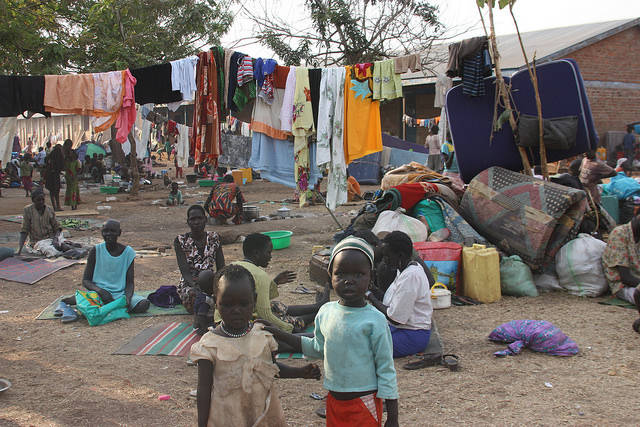 Refugees from Sudan  Bild: © European Commission DG ECHO [CC BY-NC-ND 2.0]  - flickr