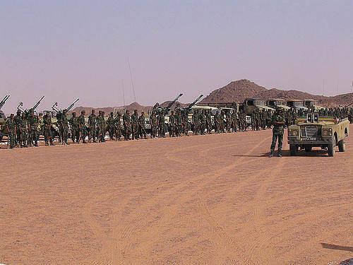 Polisario-Front an der Grenze zu Marokko  Bild: ©  Western Sahara [CC BY-SA 2.0]  - flickr