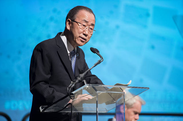 Ban Ki-moon Ban Ki-moon, UN-Generalsektretär |  Bild: ©  PRO World Bank Photo Collection [CC BY-NC-ND 2.0]  - flickr
