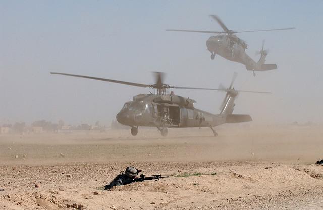 US Helikopter im Irak