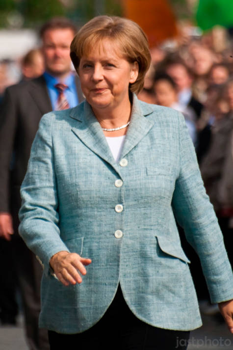 Angela Merkel  Bild: © Jan Strohdiek [CC BY-NC-ND 2.0]  - flickr