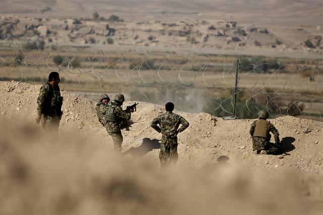 Afghanische Soldaten Afghanische Soldaten  |  Bild: ©  Al Jazeera English [CC BY-SA 2.0]  - flickr