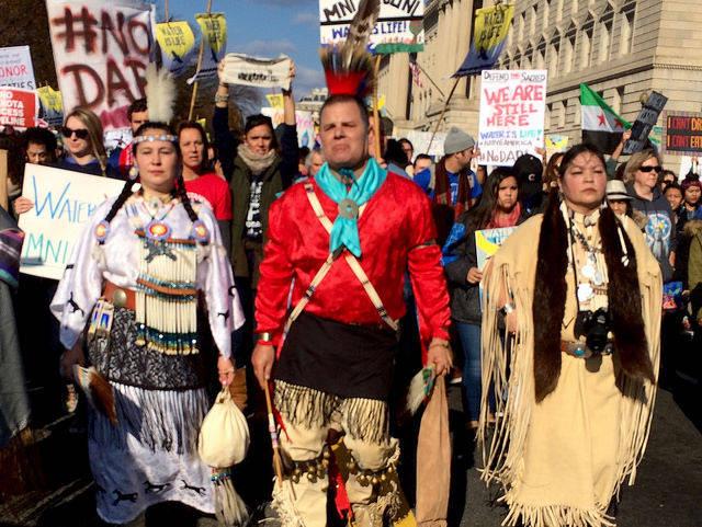Proteste gegen die Dakota Access Pipeline |  Bild: ©  cool revolution [CC BY-NC-ND 2.0]  - Flickr