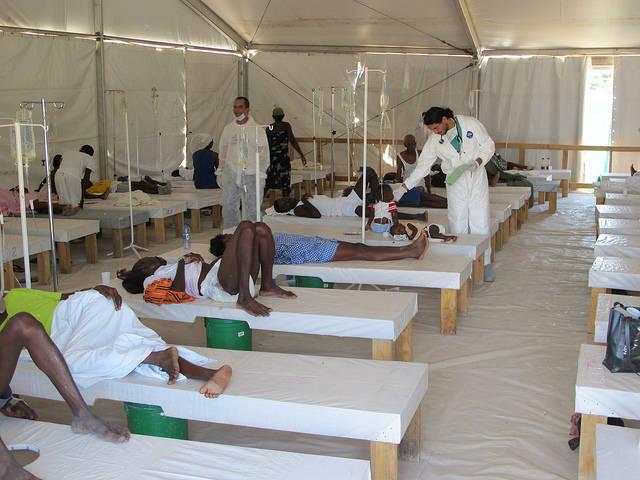 Haiti Cholera Response 2010-2011  Bild: ©  Direct Relief [CC BY-NC-ND 2.0]  - flickr