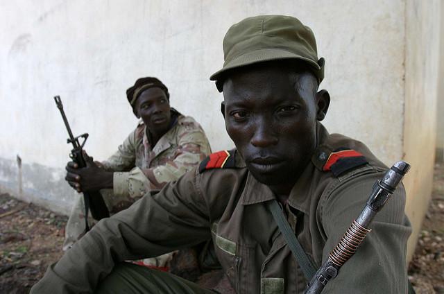 Miliz-Angehöriger, Zentralafrikanische Republik