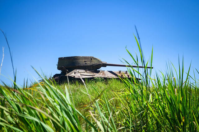 Alter Panzer in Angola |  Bild: ©  jbdodane [CC BY-NC 2.0]  - Flickr