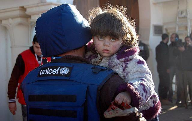 syrisches Mädchen  Bild: © World Humanitarian Summit [CC BY-ND 2.0]  - Flickr