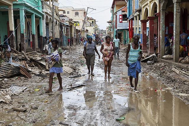 """Haiti nach dem verheerenden Sturm """"Matthew"""""""