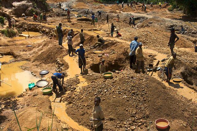 Konfliktrohstoffe im Kongo  Bild: ©  ENOUGH Project [CC BY-NC-ND 2.0]  - Flickr