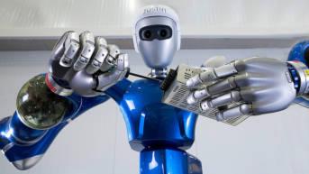 Roboter zur Wartung von Industrieanlagen Roboter zur Wartung von Industrieanlagen | Bild: ©  DLR German Aerospace Center [CC BY 2.0]  - Flickr