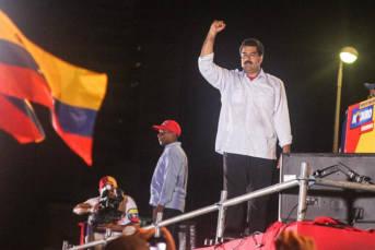 Maduro Venezuelas Präsident Nicolas Maduro   Bild: © Joka Madruga - Flickr