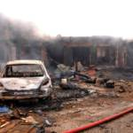 Ausgebranntes Auto in Jos (Nigeria) nach Anschlag von Boko Haram | Bild (Ausschnitt): © Diariocritico de Venezuela [CC BY 2.0] - flickr.com
