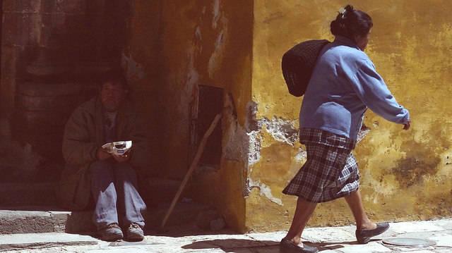 Armut in Mexiko Das Freihandelsabkommen mit der EU könnte Mexiko weiter in die Armut stürzen.     Bild: © Giulian Frisoni [CC BY 2.0]  - Flickr