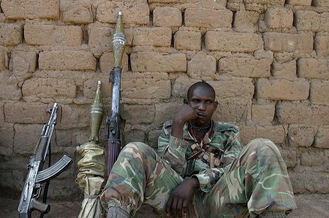 Bewaffneter Rebell