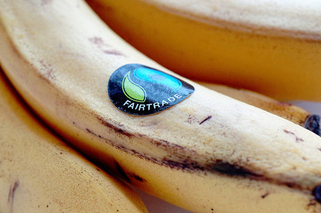 Fairtrade-Siegel  Bild: © Dave Crosby [CC BY 2.0]  - Flickr