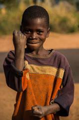 Sambia, Afrika, Kind, Glücklich