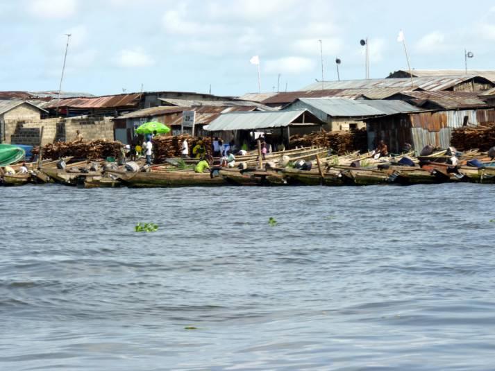 Laguna in Lagos |  Bild: © Heinrich-Böll-Stiftung [CC BY-SA 2.0]  - flickr.com