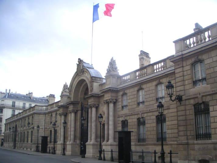 Palais de l´Elysée Palais de l´Elysée |  Bild: © TouN [CC BY-SA 3.0]  - Wikimedia Commons