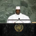 Gambias ehemaliger Diktator ruinierte die Wirtschaft Gambias Ex-Präsident Yahya Jammeh trägt Schuld an der hohen Emigrationsrate | Bild (Ausschnitt): © United Nations Photo [CC BY-NC-ND 2.0] - Flickr