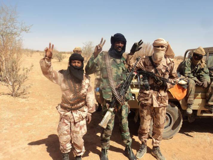 Mitglieder einer radikalen Tuareg Gruppierung.     Bild: © Magharebia [CC BY 2.0]  - Flickr