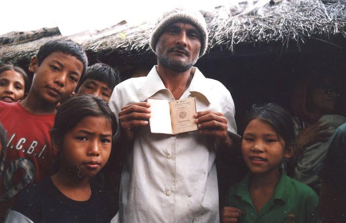 Flüchtlinge im Lager in Nepal |  Bild: © Alemaugil [Public Domain]  - Wikimedia Commons