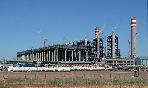 Kohlekraftwerk Medupi in Südafrika