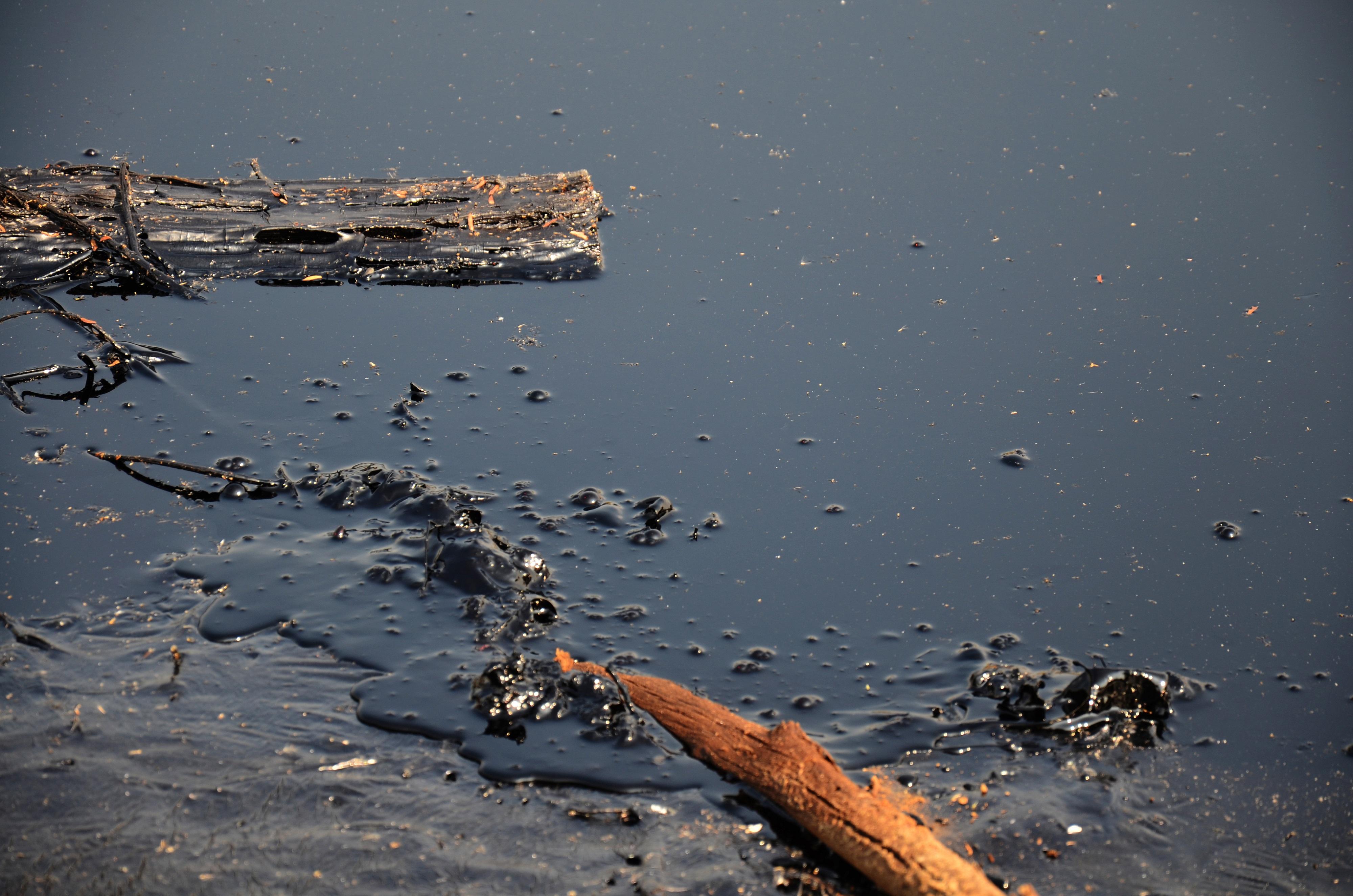 Die Umweltverschmutzung durch Öl zerstört die Lebensgrundlage der Einwohner.    Bild (Ausschnitt): © Tuayai - Dreamstime
