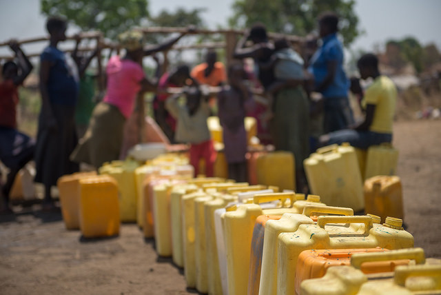 Flüchtlingslager in Uganda