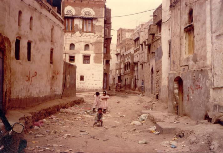 Yemen Sanaa Jemens Hauptstadt Sanna leidet unter dem Krieg |  Bild: ©  Ahron de Leeuw [CC BY 2.0]  - Flickr