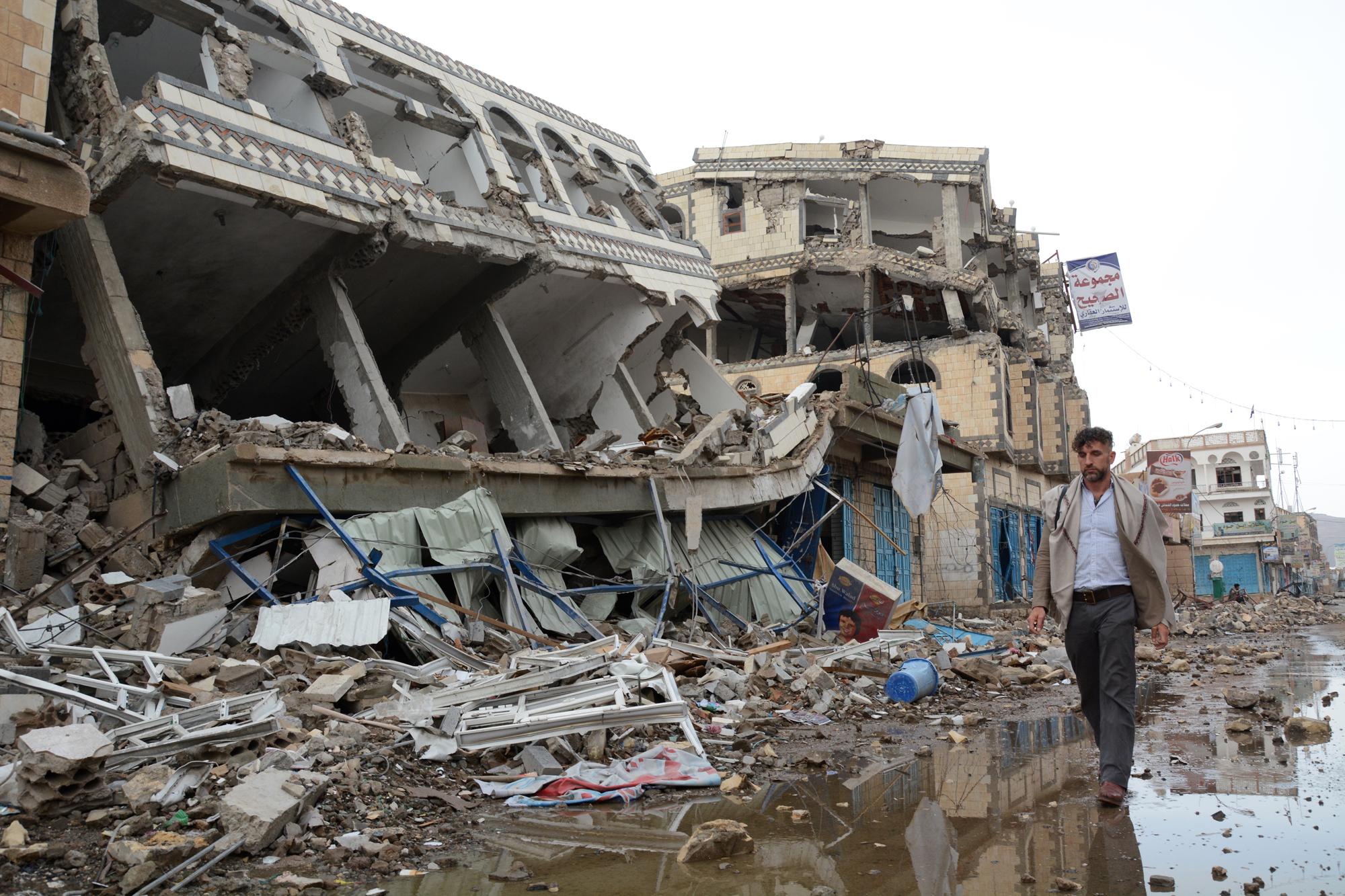 Jemen leidet unter den konstanten Luftangriffen. | Bild (Ausschnitt): ©  United Nations OCHA [CC BY-NC-ND 2.0]  - Flickr