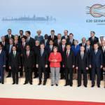 G20 Hamburg Gruppenfoto der G20-Regierungschefs in Hamburg. | Bild (Ausschnitt): © Kremlin.ru [CC BY 4.0] - Wikimedia Commons