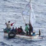 Kubanische Flüchtlinge Viele Kubaner fliehen vor Armut und Verfolgung | Bild (Ausschnitt): © Andrew Smith [CC BY-SA 4.0] - Wikimedia Commons