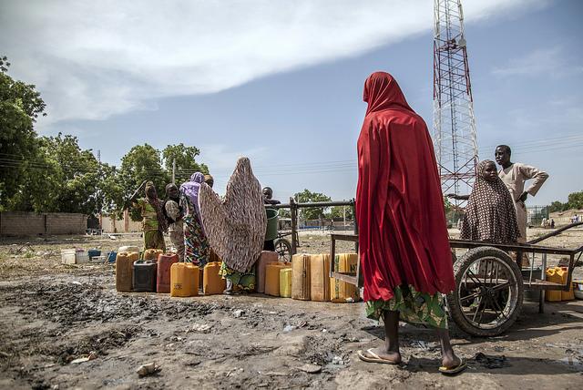 Flüchtlingslager Banki IDP, Nigeria