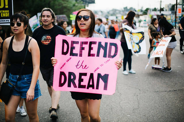 Dreamer Pro-DACA-Demonstration in Los Angeles |  Bild: © Molly Adams [CC BY 2.0]  - Flickr