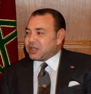 König Mohammed VI von Marokko.