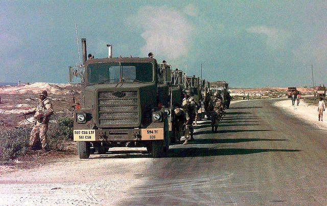US-Truppen in Somalia US-Truppen verwickeln sich in lokale Konflikte in Somalia, mit tödlichen Folgen für die Zivilbevölkerung. |  Bild: ©  Expert Infantry [CC BY 2.0]  - Flickr